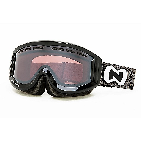Ski Free Shipping. Native Riva Goggles DECENT FEATURES of the Native Riva Goggles Cylindrical Thermal Polarized Lens Anti-Fog Interior Lens Coating Flex Fit Lens Vented Lens Technology High-Permeability Mesh Snow Filters Face Chamber Venting Triple-Layer Face Foam Adjustable Helmet Strap - $78.95
