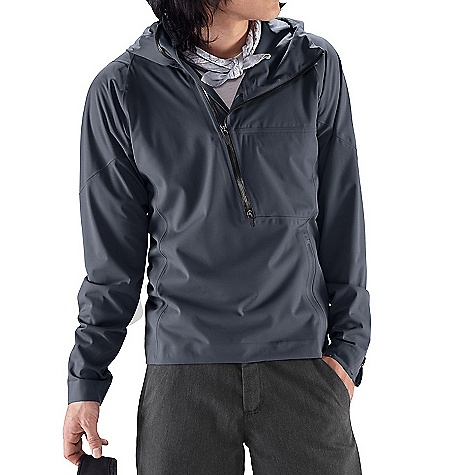 On Sale. Free Shipping. Nau Men's Wafer Pullover DECENT FEATURES of the Nau Men's Wafer Pullover Seam sealed 4 way stretch fabric Single adjust helmet size hood Deep front zip with left chest pocket Zip hem closure Low profile zip cuffs The SPECS Fabric: Fine guage recycled polyester knit face Polyester WPB laminate and 2.5 layer print on the back for comfort Lightweight packability DWR - $99.99