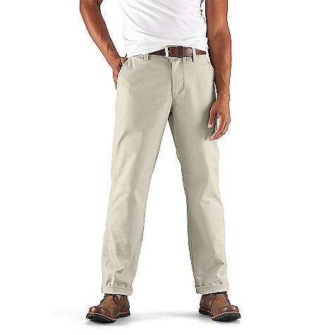 On Sale. Free Shipping. Nau Men's People's Chino DECENT FEATURES of the Nau Men's People's Chino Flat front chino Zip fly with button waist 2 Front hand pockets 2 Back drop-in pockets Double needle top stitching Regular fit The SPECS Organic cotton 10 oz double weave twill fabric with 4% spandex for stretch Inseam: 28-30: 32in., 31-33: 33in., 34-36: 34in., 38: 35in. - $84.99