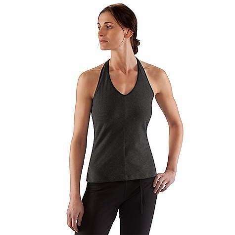 On Sale. Free Shipping. Nau Women's Stylus Halter DECENT FEATURES of the Nau Women's Stylus Halter Wide comfortable halter Strap Internal shelf The SPECS Fabric: 97% organic cotton/ 3% spandex yarn dye stripe jersey with enzyme finish for a smooth Soft feel 2.9 oz. - $34.99