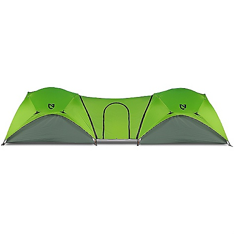 Camp and Hike Free Shipping. Nemo Asashi 4 Link DECENT FEATURES of the Nemo Asashi 4 Person Tent Asashi 4P takes the highly efficient pole configuration from our Losi series and expands it into a spacious 4 person design Setup is straightforward thanks to contiguous pole sleeves and an intuitive Symmetrical design Includes aluminum poles Eight interior pockets Four Light Pockets Foll-up style stuff sack Stakes, and repair kit The SPECS Weight: 1.1 lbs / 0.5 kg Coverage Area: 33 square feet / 3.1 square meter Dual Doors Links two Asashi tents Nemo products cannot be shipped to Japan. Please don't hate us. - $89.95