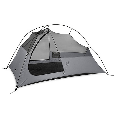 Camp and Hike Free Shipping. Nemo Obi 2 Person Tent DECENT FEATURES of the Nemo Obi 2 Person Tent A large side entry makes entrances/exits easier on the body and provides more coverage in the rain The large D-shaped door gives you easy access to your gear Dual vestibule/entries on Obi 2P and 3P eliminate jostling for position and gear storage On the Fly configuration is a lightweight tarp structure created by your fly, poles, and footprint Setup is simple with Jake's Feet corner anchors Pole hubs at the front and rear of the tent allow multiple poles to intersect at a single point creating a unique pole architecture that allows free-standing support while minimizing pole weight The SPECS Capacity: 2 person Frame: 1 DAC 8.5 mm Featherlite NSL Minimum Weight: 3 lbs / 1.4 kg Packed Weight: 3 lbs 10 oz / 1.6 kg Floor Dimension: 82 x 50in. / 216 x 127 cm Interior Height: 40in. / 102 cm Floor Area: 27 square feet / 2.5 square meter Vestibule Area: 18 square feet / 1.7 square meter Packed Size: 7.5 x 6 Diameter: 19 x 15 cm Pole Bag: 17in. / 43 cm Shell: Mesh / 20D PU Nylon Fly: 20D PU Nylon Floor: 30D PU Nylon (5,000 mm) Stuff Sack Style: Dry Bag Included Accessories: Dry bag style stuff sack, stakes, guy-out cord, repair kit Optional Accessories: Footprint, Pawprint, Gear Caddy OVERSIZE ITEM: We cannot ship this product by any expedited shipping method (3-Day, 2-Day or Next Day). Even if you pick that option, it will still go Ground Shipping. Sorry for being so mean. ALL CLIMBING SALES ARE FINAL. This product can only be shipped within the United States. Please don't hate us. Nemo products cannot be shipped to Japan. Please don't hate us. - $399.95
