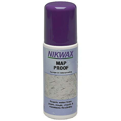 On Sale. Nikwax Map Proof FEATURES of the Nikwax Map Proof Waterproofs and protects maps, nautical charts and paper Volume: 4.2 fl oz / 125 ml - $3.99