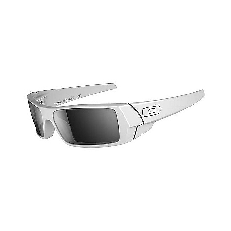 Entertainment Free Shipping. Oakley Gascan Sunglasses DECENT FEATURES of the Oakley Men's Gascan Sunglasses Lightweight, stress resistant O MATTER frame material Extended wrapped frame geometry to fit medium to large faces Metal icon accents Sculpturally integrated hinge mechanisms with dual cam action Dual lens POLARIC ELLIPSOID geometry (two lenses cut from single toric shield) Plutonite lens material blocks 100% of all UVA, UVB, UVC and harmful blue light Optional Iridium coatings and lens tints to reduce glare and heighten contrast XYZ Optics for maximized clarity at all angles of vision, even at lens periphery Exceeds ANSI Z87.1 standards for impact and optical requirements Available with Oakley prescription lenses (+2.00 through -4.00 combined power) The SPECS Eye: 61 mm Bridge: 15 mm Prescription Range: +2.00 to -4.00 with cylinder up to -3.00 Available in progressive - $100.00