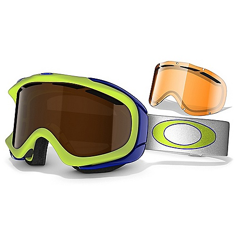 Snowboard On Sale. Free Shipping. Oakley Ambush Snow Goggles We spent decades ambushing the world's idea of possibility and taking it to new heights, including places high enough to touch the sky. Our AMBUSH SNOW Goggle by Oakley puts altitude in every aspect of alpine performance, turning recreation into sport domination. The true anatomical fit is perfectly balanced with articulated strap clips that equalize pressure. When muscles burn and lungs grapple for air, triple-layer fleece foam wicks away sweat. Chassis venting is maximized and the dual-lens design is enhanced with anti-fog treatment plus even more venting at the top edge. Bottom line: This is how comfort becomes visionary. Our snow goggles are built for punishing abuse, and the EN 1938 impact rating of AMBUSH adds protection to even the most aggressive shred session. The interchangeable strap on the comfortably lightweight O MATTER frame is backed with silicone for a no-slip grip. Scratch-resistant LEXAN lens material blocks the cruel UV rays found in the highlands, and the interchangeable lens design lets you adapt when the atmosphere goes from baked sun to bruised clouds. - $59.99