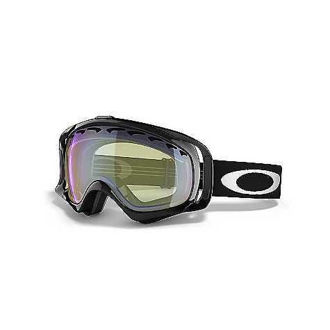 Snowboard Free Shipping. Oakley Crowbar Snow Goggles FEATURES of the Oakley Crowbar Snow Goggles Streamlined frame design for expanded peripheral vision Flexible O Matter chassis conforms to your face Rigid O Matter strap outriggers provide a balanced fit,with or without a helmet triple-layer fleece face foam to enhance comfort and seal out the elements Dual vented lenses with F3 anti fog coating Medium fit Available in Prizm Lens Technology - $140.00