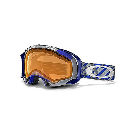 Ski Free Shipping. Oakley Splice Goggles DECENT FEATURES of the Oakley Splice Goggles Internal skeletal support system for reduced nasal pressure and maximized airflow Semi-flush lens geometry for improved downward visibility Fast, easy lens changing with interchangeable lens design Balanced fit (with or without helmet) via O Matter(R) strap outriggers Maximum peripheral vision with zero obstruction from the outriggers Flexible O Matter chassis with quick-change strap attachment Fog elimination of dual vented lenses with F3 anti-fog technology All-day comfort of moisture wicking triple-layer polar fleece foam UV protection of Plutonite lens that filters out 100% of UVA, UVB and UVC Balanced light transmission of Iridium(R) lens coating (optional) Optimized to fit medium to large faces - $120.00