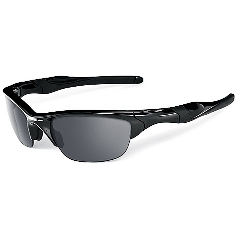 Entertainment Free Shipping. Oakley Half Jacket 2.0 Sunglasses FEATURES of the Oakley Half Jacket 2.0 Sunglasses Durability and all-day comfort of lightweight, stress-resistant O matter frame material Comfort and performance of Three-Point Fit that holds the lenses in precise optical alignment Unobtainium components that increase grip when you sweat Metal icon accents Interchangeable lens design to optimize performance in any environment High Definition Optics for clarity, visual fidelity and impact resistance that meets all ANSI Z87.1 standards XYZ Optics to extend clarity to the edge of a wide peripheral view 8.75 base lens curvature that improves side protection against sun, wind and impact UV protection of Plutonite lens material that filters out 100% of UVA / UVB / UVC and harmful blue light up to 400nm Semi-rimless design for open downward view Polarized Options - Minimized glare via technology that produces the best polarized lenses on the planet Transitions Solfx photochromic lenses options: Darkens and lightens the lens in response to the environment Iridium coated lenses that reduce glare and balance light transmission - $130.00
