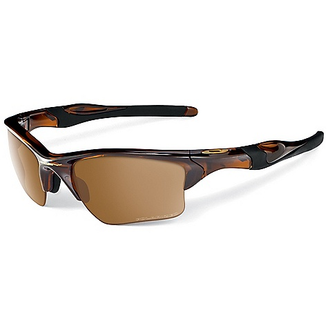 Entertainment Free Shipping. Oakley Half Jacket 2.0 XL Sunglasses DECENT FEATURES of the Oakley Half Jacket 2.0 XL Sunglasses Durability and all-day comfort of lightweight, stress-resistant O matter frame material Comfort and performance of Three-Point Fit that holds the lenses in precise optical alignment Unobtainium components that increase grip when you sweat Metal icon accents Interchangeable lens design to optimize performance in any environment High Definition Optics for clarity, visual fidelity and impact resistance that meets all ANSI Z87.1 standards XYZ Optics to extend clarity to the edge of a wide peripheral view 8.75 base lens curvature that improves side protection against sun, wind and impact UV protection of Plutonite lens material that filters out 100% of UVA / UVB / UVC and harmful blue light up to 400nm Semi-rimless design for open downward view Polarized Options - Minimized glare via technology that produces the best polarized lenses on the planet Transitions Solfx photochromic lenses options: Darkens and lightens the lens in response to the environment Iridium coated lenses that reduce glare and balance light transmission - $120.00