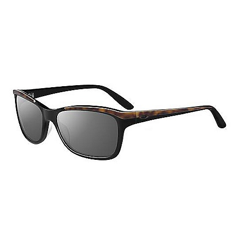 Entertainment Free Shipping. Oakley Women's Confront Sunglasses DECENT FEATURES of Oakley Women's Confront Sunglasses Polarized - Minimized glare via technology that produces the best polarized lenses on the planet with greater than 99% polarization efficiency (optional) Optimized peripheral vision and side protection of 6 base lens curvature UV protection of Plutonite lens material that filters out 100% of UVA / UVB / UVC and harmful blue light up to 400nm Varied field of light transmission (top to bottom) via optional gradient lens shading Optical precision and impact resistance meet or exceed Z80.3 optical and basic impact standards Available with Oakley prescription lenses: Single Vision and Progressive Accents include sculpturally detailed hinge with metal icons and handmade Acetate frame Comfort and performance of Three-Point Fit that holds lenses in precise optical alignment Patented hydrophilic Unobtainium earpads ensure a snug, secure fit - $150.00