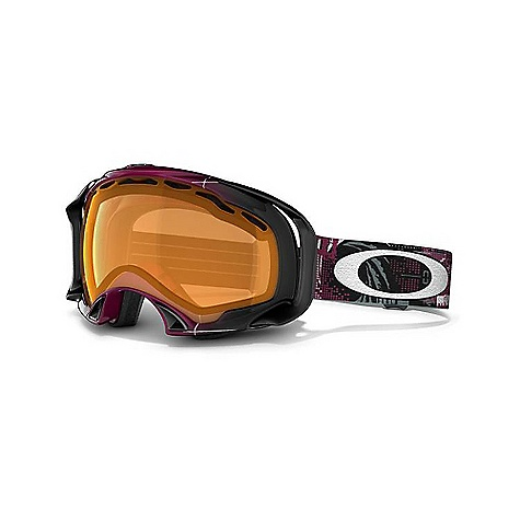 Ski Free Shipping. Oakley Eero Ettala Signature Splice Goggles DECENT FEATURES of the Oakley Eero Ettala Signature Splice Goggles Internal skeletal support system for reduced nasal pressure and maximized airflow Semi-flush lens geometry for improved downward visibility Fast, easy lens changing with interchangeable lens design Balanced fit (with or without helmet) via O Matter(R) strap outriggers Maximum peripheral vision with zero obstruction from the outriggers Flexible O Matter chassis with quick-change strap attachment Fog elimination of dual vented lenses with F3 anti-fog technology All-day comfort of moisture wicking triple-layer polar fleece foam UV protection of Plutonite lens that filters out 100% of UVA, UVB and UVC Balanced light transmission of Iridium lens coating (optional) Optimized to fit medium to large faces - $130.00