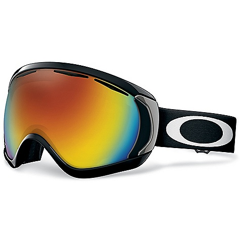 Ski On Sale. Free Shipping. Oakley Canopy Goggles FEATURES of the Oakley Canopy Goggles Large lens design expands peripheral view in every direction Oakley's patented O-Flow Arch allows for easy breathing and unrestricted air flow Streamlined frame design provides full helmet compatibility Discreet frame notches at temples provide compatibility with most prescription eyewear , without compromising fit Dual-vented lenses with F3 anti-fog coating Medium to large fit Available in Prizm Lens Technology - $132.99