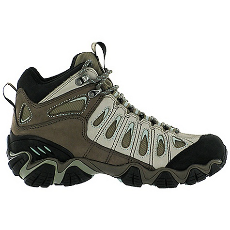 Camp and Hike Free Shipping. Oboz Women's Sawtooth Mid Boot DECENT FEATURES of the Oboz Women's Sawtooth Mid Boot Waterproof Nubuck Leather and High Abrasion Resistant Textile Oboz BDry Waterproof/Breathable Membrane 3D Molded Heel Counter Molded Rubber Toe Rand BFit Deluxe Dual Density EVA Nylon Shank Sawtooth Outsole The SPECS Weight: 1/2 pair: 17.1 oz - $140.00