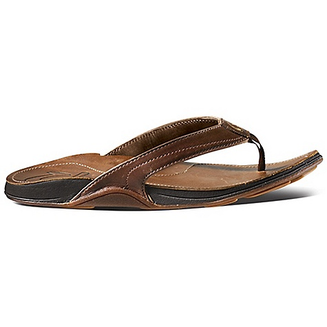 Entertainment Features of the OluKai Women's Kumu Sandal Non-marking gum rubber Outsole with traction Pods Anatomical compression-molded EVA Midsole with full grain leather Footbed Full-grain leather - $79.95