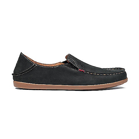 Skateboard Features of the Olukai Women's Nohea Nubuck Shoe Versatile Drop-In Heel for shoe or slide functionality Non-marking molded gum rubber Outsole EverFit contoured Footbed lined with Dri-Lex synthetic suede and embossed leather heel patch Removable and washable Full-grain leather - $109.95