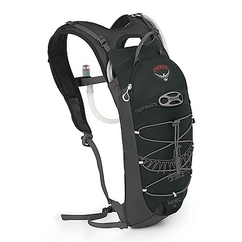Entertainment On Sale. Free Shipping. Osprey Viper 4 Pack DECENT FEATURES of the Osprey Viper 4 Pack LidLock helmet clip Top zippered pocket for quick access Magnetic sternum buckle Removable 20mm webbing hipbelt strap Blinker light attachment Reflective graphics Heat embossed fabric sunglasses pocket (internal) Bungee lacing system on front panel 2 Liter reservoir included Spacer Mesh back panel Creates a lightweight, yet supportive and ventilated back panel Biostretch Ventilated Harness Built-in magnet for quick bite-valve attachment Sternum strap with magnetic hose attachment Detachable Webbing Hipbelt Modified-Straight Ergo Pull hip belt closure The SPECS Capacity: 244 cubic inches / 4 liter Weight: 1 lb / 0.47 kg Dimension: 17in. x 9in. x 4in. / 44 x 22 x 10 cm Reservoir Weight: 10.8 oz / 0.30 kg 210 double rip 600D polyester OVERSIZE ITEM: We cannot ship this product by any expedited shipping method (3-Day, 2-Day or Next Day). Even if you pick that option, it will still go Ground Shipping. Sorry for being so mean. - $49.99