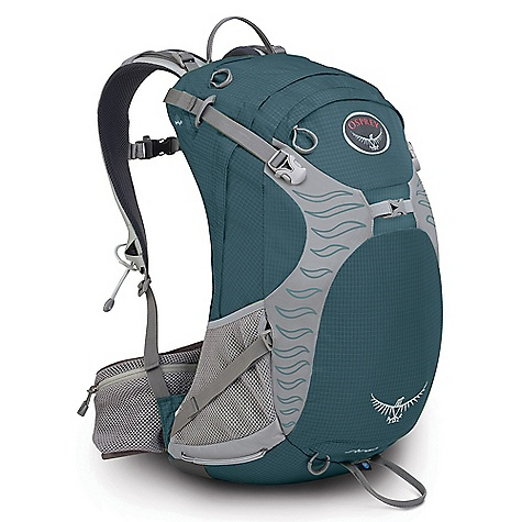 Camp and Hike Free Shipping. Osprey Women's Sirrus 24 Pack DECENT FEATURES of the Osprey Women's Sirrus 24 Pack 2 side mesh woven pockets with InsideOut compression Upper side compression straps Integrated raincover 3D tensioned breathable mesh backpanel with side ventilation Stow-on-the-Go trekking pole attachment Zippered hipbelt pockets Single ice tool attachment Women's specific hipbelt and harness Large panel access Small zippered front pocket 2X zippered mesh fabric hipbelt pockets Stratos / Sirrus Harness Sewn-in spacer mesh Webbing adjustable sternum strap with whistle buckle Zippered electronics pocket Airspeed Suspension 3D tensioned breathable mesh backpanel Spacer Mesh Built-In Hipbelt Lightweight sewn-in spacer mesh harness and hipbelt Zippered stretch mesh hipbelt pockets ErgoPull hipbelt closure The SPECS 210D double ripstop nylon 420HD nylon pack cloth Dimension: (H x W x D): 22 x 13 x 9in. / 55 x 32 x 22 cm The SPECS for Small Volume: 1343 cubic inches / 22 liter Weight: 2 lbs 6 oz / 1.08 kg The SPECS for Medium Volume: 1465 cubic inches / 24 liter Weight: 2 lbs 8 oz / 1.12 kg The SPECS for Large Volume: 1587 cubic inches / 26 liter Weight: 2 lbs 10 oz / 1.18 kg OVERSIZE ITEM: We cannot ship this product by any expedited shipping method (3-Day, 2-Day or Next Day). Even if you pick that option, it will still go Ground Shipping. Sorry for being so mean. - $99.00
