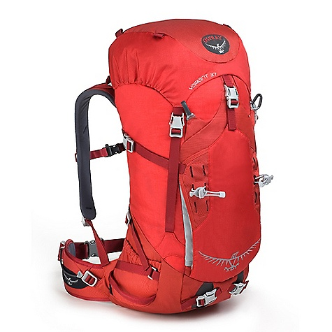 Ski Free Shipping. Osprey Variant 37 Pack DECENT FEATURES of the Osprey Variant 37 Pack Removable dual compartment top pocket with spindrift collar Three-point haul system Dual ice tool holster with three position Y-clip bungee tool tie-offs Compressible front panel pocket Wand / ice-pro pocket Top quick release and bottom side compression straps Under lid rope compression strap Dual ski loops Removable HDPE framesheet Crampon compression pocket Interchangeable hipbelt available in 4 sizes Glove friendly buckles Fixed Stretch Comfort Harness Adjustable sternum strap with safety whistle buckle Contoured EVA Hipbelt Reverse wrap stowable ErgoPull closure Tool loops The SPECS Matrix 420D nylon 315D Cordura nylon 420HD nylon 900D polyester Dimension: (H x W x D): 34 x 13 x 13in. / 87 x 34 x 32 cm The SPECS for Small Volume: 2075 cubic inches / 34 liter Weight: 3 lbs 4 oz / 1.47 kg Weight: Stripped: 1 lb 15 oz / 0.88 kg The SPECS for Medium Volume: 2258 cubic inches / 37 liter Weight: 3 lbs 6 oz / 1.53 kg Weight: Stripped: 2 lbs 2 oz / 0.96 kg The SPECS for Large Volume: 2441 cubic inches / 40 liter Weight: 3 lbs 9 oz / 1.62 kg Weight: Stripped: 2 lbs 5 oz / 1.05 kg - $179.00