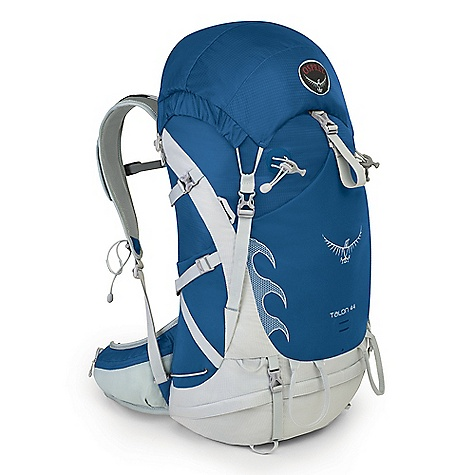 Free Shipping. Osprey Talon 44 Pack DECENT FEATURES of the Osprey Talon 44 Pack Patterned Talon reflective graphic Superlight YKK buckles Diecut vented EVA harness Softer elastic binding - hip and harness Side stretch woven pockets Blinker light attachment External hydration sleeve Top loader with expandable collar with dual drawcords Removable top lid with zippered top pocket Under-lid compression strap and zippered mesh map pocket Peripheral aluminum frame with aluminum head cup Adjustable harness Stow-on-the-Go trekking pole attachment Dual ice tool loops with bungee tool tie-offs Talon BioStretch Adjustable Harness Torso adjustable sizes, S/M, M/L Slotted adjustable sternum strap with whistle buckle Stretch woven energy gel pockets AirScape Backpanel with Ridge-Molded Foam and Air Chimney Creates a lightweight, yet supportive and ventilated backpanel BioStretch Built-in Hipbelt Mesh covered, slotted foam hip belt Zippered stretch mesh hipbelt pockets ErgoPull hipbelt closure The SPECS 70D x 100D nylon shadow check 160D x 330D nylon shadow box Stretch woven nylon with lycra Dimension: (H x W x D): 28 x 13 x 11in. / 71 x 34 x 29 cm The SPECS for S/M Volume: 2563 cubic inches / 42 liter Weight: 2 lbs 3 oz / 1.09 kg The SPECS for M/L Volume: 2685 cubic inches / 44 liter Weight: 2 lbs 7 oz / 1.11 kg OVERSIZE ITEM: We cannot ship this product by any expedited shipping method (3-Day, 2-Day or Next Day). Even if you pick that option, it will still go Ground Shipping. Sorry for being so mean. - $149.00