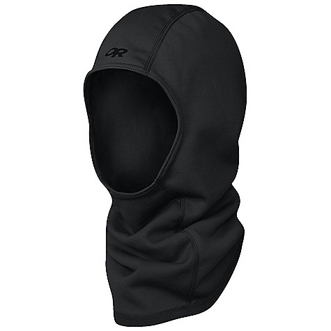 The Wind Pro Balaclava by Outdoor Research. Take shelter from biting wind and stinging cold in this weather-resistant balaclava. The hard-faced fleece fabric sheds weather and conserves warmth. The scooped neck connects with your clothing layers. Features of the Outdoor Research Wind Pro Balaclava Flat-Seam Construction Contoured Shape - $31.99