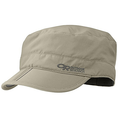 The Radar Pocket Cap by Outdoor Research. Function lies at the heart of this street-styled cap. It will shield you from the sun with UPF 30 sun protection, keep you dry with the TransAction headband, and store away in your pocket with the help of the folding bill. Features of the Outdoor Research Radar Pocket Cap Breathable Lightweight Wicking UPF 30 Folding Brim for Easy storage Wicking Transaction Headband - $28.00