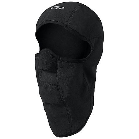 Outdoor Research Sonic Balaclava FEATURES of the Outdoor Research Sonic Balaclava Polartec Wind Pro Ear Panels Allow Better Hearing Flat-Seam Construciton Contoured Shape Mesh Breathing Port spandex Trim - $43.00