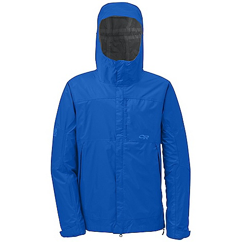 On Sale. Free Shipping. Outdoor Research Men's Rampart Jacket DECENT FEATURES of the Outdoor Research Men's Rampart Jacket Waterproof Fully Seam Taped Fully Adjustable Hood Venting Port in Hood Double-Separating Front Zipper External Front-Zip Stormflap Double-Sliding TorsoFlo Hem-To-Bicep Zippers Zippered Napoleon Pocket Two Zippered Hand Pockets Left Hand Pocket Doubles as Stuff Sack Hook/Loop Cuff Closures Drawcord Hem The SPECS Weight: (L): 13.6 oz / 385 g Fit: Standard Center Back Length: 30 3/4in. / 78 cm Barrier, 100% nylon 70D This product can only be shipped within the United States. Please don't hate us. - $61.99