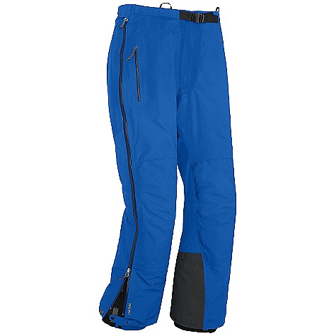 Free Shipping. Outdoor Research Men's Furio Pant DECENT FEATURES of the Outdoor Research Men's Furio Pant Hybrid Mapped Construction Waterproof Windproof Breathable Durable Fully Seam Taped Water-Resistant Zippers Accepts Accessory Suspenders Belt Loops Dual-Sliding Zipper Fly Adjustable Belt Adjustable Tabs at Waist Zippered Pockets Double-Separating Side Zippers Gusseted Crotch Articulated Knees Reinforced Scuff Guards Cuff Closures Snap Drawcord Cuff Closures Grommets for Instep Lace The SPECS Weight: (L): 20.5 oz / 582 g Standard Fit Inseam: 33in. / 80 cm Gore-Tex Pro 3L, 100% nylon 70D fabric seat and knees Gore-Tex 3L, 100% nylon with Paclite Technology body This product can only be shipped within the United States. Please don't hate us. - $284.95