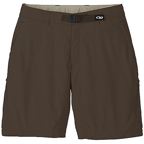On Sale. Free Shipping. Outdoor Research Men's Equinox Short DECENT FEATURES of the Outdoor Research Men's Equinox Short DWR Finish Quick Drying Breathable Lightweight UPF 50+ Belt Loops Snap and Zipper Fly Adjustable Belt Front Slash Pockets Rear Pockets with Flap Closures Zippered Thigh Pocket Gusseted Crotch The SPECS Weight: (L): 7.6 oz / 215 g Fit: Standard Inseam: 10in. / 25 cm 100% Supplex nylon This product can only be shipped within the United States. Please don't hate us. - $44.99