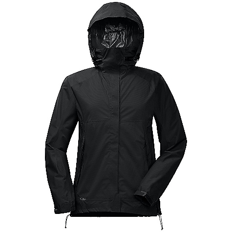 On Sale. Free Shipping. Outdoor Research Women's Reflexa Jacket DECENT FEATURES of the Outdoor Research Women's Reflexa Jacket Waterproof Breathable Movement-Mirroring Stretch Fully Seam Taped Water-Resistant Zipper Double-Separating Front Zipper External Front-Zip Stormflap Pit Zips Two Zippered Hand Pockets Hand Pockets Set Above Hip Belt or Harness Left Hand Pocket Doubles as Stuff Sack Elastic Cuffs Hook/Loop Cuff Closures Drawcord Hem The SPECS Weight: (M): 12.1 oz / 343 g Standard Fit Center Back Length: 27 1/4in. / 69 cm Pertex Shield DS 2.5L, 100% nylon 40D stretch ripstop This product can only be shipped within the United States. Please don't hate us. - $81.99