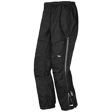 Free Shipping. Outdoor Research Women's Aspire Pant DECENT FEATURES of the Outdoor Research Women's Aspire Pant Waterproof Breathable Lightweight Fully Seam Taped Water-Resistant Zippers Elastic Waist with Drawcord Rear Pocket Doubles as Stuff Sack 3/4 Length Side Zippers Gusseted Crotch Articulated Knees Cuff Closures Internal Loops for Instep Lace The SPECS Weight: (M): 9.8 oz / 277 g Standard Fit Inseam: 30in. / 76 cm Gore-Tex Paclite Technology 2.5L, 100% polyester 50D This product can only be shipped within the United States. Please don't hate us. - $159.95