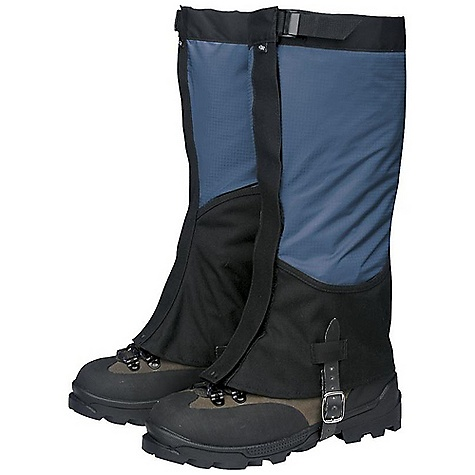 Free Shipping. Outdoor Research Women's Verglas Gaiters DECENT FEATURES of the Outdoor Research Women's Verglas Gaiters Ventia Dry Construction Waterproof Ventia leg Durable, abrasion-resistant Cordura boot Boot section shaped for durability, ventilation Webbing and cam buckle top closure 1 1/2in.-Wide hook/loop front closure Double-riveted boot lace hook Hypalon instep strap The SPECS Weight: (M, per pair): 6.7 oz / 190 g Fabric: 100% nylon, 3-layer, 50D ripstop Ventia, Coated 500D Cordura This product can only be shipped within the United States. Please don't hate us. - $53.95