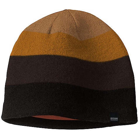 Entertainment The Gradient Hat by Outdoor Research. Classic style with a twist. The warm wool of this hat keeps you focused when blast of cold air threatens to chill you to the core as you check your route bearings. Keeping you toasty and protected, this hat's impermeable boiled wool never lets you down; just like your spot-on internal compass. You're still on the right track as you push on towards the trails' end. Features of the Outdoor Research Gradient Hat Wicking Breathable Microfleece Lining - $23.99