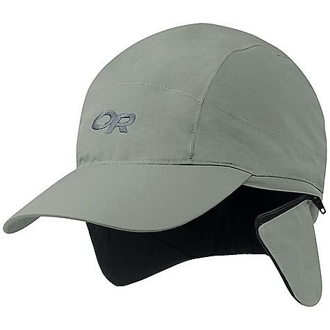 On Sale. Outdoor Research Prismatic Cap DECENT FEATURES of the Outdoor Research Prismatic Cap Waterproof Breathable Windproof Fully Seam Taped Stiffened Brim Zip Off Ear Band; Hidden Earphone Pockets External Drawcord Adjustment The SPECS Weight: 3.0 oz / 85 g 70D Gore-Tex Brushed tricot interior for comfort and moisture management, 100% polyester This product can only be shipped within the United States. Please don't hate us. - $30.99