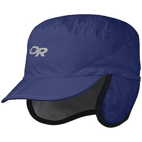 Outdoor Research Highpoint Cap DECENT FEATURES of the Outdoor Research Highpoint Cap Breathable Wind Resistant Wicking Folding Brim for Easy Storage External Drawcord Adjustment Flip Up Earflaps with Magnetic Side Attachments The SPECS Weight: 2.3 oz / 65 g 30D Pertex Endurance 100% Nylon 100% polyester fleece lining This product can only be shipped within the United States. Please don't hate us. - $41.95