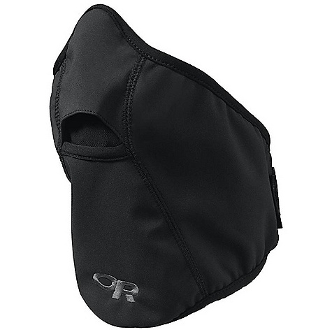 Outdoor Research Face Mask DECENT FEATURES of the Outdoor Research Face Mask Breathable Water resistant Flat-seam construction Contoured shape Mesh breathing port Rear hook/loop size adjustment Elastane trim The SPECS Weight: (L): 1.2 oz / 34 g Wind stopper Soft Shell 3L 94% nylon, 6% spandex PU Laminate Back 100% polyester This product can only be shipped within the United States. Please don't hate us. - $27.95