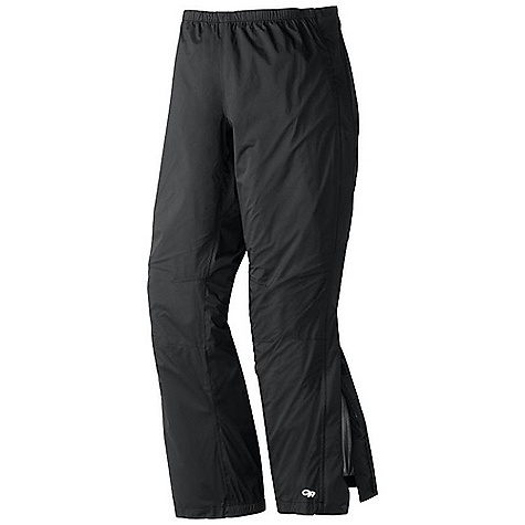 Free Shipping. Outdoor Research Women's Reflexa Pant DECENT FEATURES of the Outdoor Research Women's Reflexa Pant Waterproof Breathable Fully Seam Taped Elastic Waist with Drawcord Rear Pocket Doubles as Stuff Sack Double-Separating Side Zippers Gusseted Crotch Articulated Knees Cuff Closure Internal Loops for Instep Lace The SPECS Weight: (M): 11.5 oz / 326 g Standard Fit Inseam: 31in. / 79 cm Pertex Shield DS 2.5L, 100% nylon 40D stretch ripstop This product can only be shipped within the United States. Please don't hate us. - $138.95