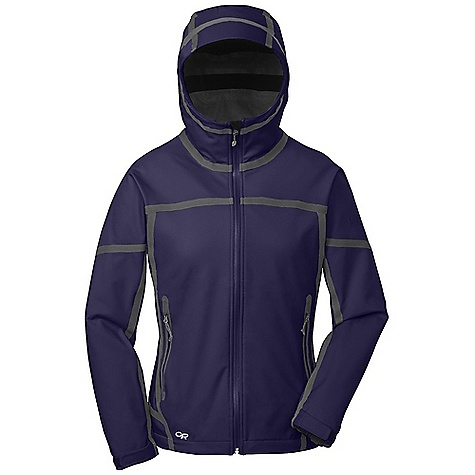 On Sale. Free Shipping. Outdoor Research Women's Mithril Jacket DECENT FEATURES of the Outdoor Research Women's Mithril Jacket Waterproof Windproof Breathable Durable Movement-Mirroring Stretch Fully Seam Taped Water-Resistant Zippers Fully Adjustable Hood Fits Over Helmet Brushed-Tricot-Lined Collar Single-Separating Front Zipper Internal Front-Zip Stormflap Zippered Internal Pocket Two Zippered Hand Pockets Elastic Cuffs Hook/Loop Cuff Closures Drawcord Hem The SPECS Weight: (M): 19.1 oz / 540 g Standard Fit Center Back Length: 26 1/4in. / 67 cm Ventia Dry 100% nylon face 100% polyester microfleece backer This product can only be shipped within the United States. Please don't hate us. - $156.99