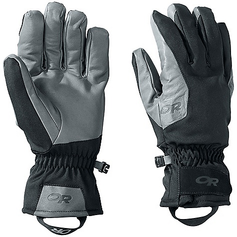 On Sale. Free Shipping. Outdoor Research Men's ExtraVert Gloves DECENT FEATURES of the Outdoor Research Men's ExtraVert Gloves Soft shell stretch fabric construction Wind-resistant, weather-resistant, highly breathable Thermal wool blend lining for warmth and durability Wrap-around leather palm Anatomical curve, boxed construction 3-panel thumb Elasticized wrist Hook/loop tab gauntlet adjustment The SPECS for Small Circumference of Hand: 7-7 1/2in. / 18-19 cm Length of Hand: 6 1/2-7in. / 17-18 cm The SPECS for Medium Circumference of Hand: 8-8 1/2in. / 20-22 cm Length of Hand: 7 1/2-8in. / 19-20 cm The SPECS for Large Circumference of Hand: 9-9 1/2in. / 23-24 cm Length of Hand: 8 1/2-9in. / 22-23 cm Average Weight: 5.5 oz / 156 g The SPECS for Extra Large Circumference of Hand: 9 1/2-10+in. / 24-25+ cm Length of Hand: 9-9 1/2+in. / 23-24+ cm This product can only be shipped within the United States. Please don't hate us. - $31.99