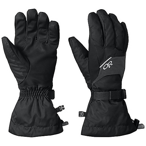 Free Shipping. Outdoor Research Men's Adrenaline Gloves FEATURES of the Outdoor Research Men's Adrenaline Gloves Waterproof Windproof Breathable Wicking AlpenGrip LT Palm Pre-Curved Box Construction MonoCinch gauntlet Closure Ladder-Lock Wrist Cinch Pull Loop Tricot Lining Enduraloft Insulation: 260g on back of Hand - $50.00