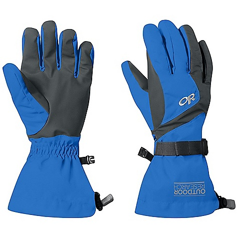 Outdoor Research Women's Adrenaline Gloves DECENT FEATURES of the Outdoor Research Women's Adrenaline Gloves Waterproof Windproof Breathable Wicking AlpenGrip LT Palm Pre-Curved Box Construction MonoCinch gauntlet Closure Ladder-Lock Wrist Cinch Pull Loop Tricot Lining Enduraloft Insulation: 260g on back of Hand The SPECS Weight: (M, per pair): 5.4 oz / 153 g Comfort Range: 0/20deg F / -17/7deg C Ventia Dry insert 100% nylon back of hand EnduraLoft insulation 100% polyester Ventia Fixed Insulation This product can only be shipped within the United States. Please don't hate us. - $48.95