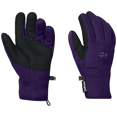 Free Shipping. Outdoor Research Women's Gripper Gloves DECENT FEATURES of the Outdoor Research Women's Gripper Gloves Durable Breathable Lightweight Wicking Quick Drying Sure grip Palm Pre-Curved Box Construction Tapered Wrist Pull Loop The SPECS Weight: (M, per pair): 2.5 oz / 70 g Comfort Range: 25/40deg F / -4/4deg C Windstopper 100% polyester fleece 65% polyester, 35% latex palm This product can only be shipped within the United States. Please don't hate us. - $49.95