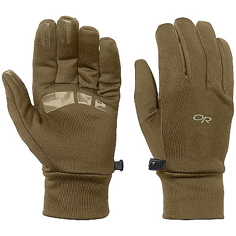 Outdoor Research Men's PL 400 Gloves DECENT FEATURES of the Outdoor Research Men's PL 400 Gloves Breathable Lightweight Wicking Quick Drying Silicone Grip Pads on Palm and Finger Tips MorionWrap Construction for Minimal Seaming Mirror Seam Double-Layer Fleece Construction Contoured Wrist Glove Clip The SPECS Weight: (L, per pair): 2.7 oz / 77 g Comfort Range: 25/40deg F / -4/4deg C 95% polyester, 5% spandex 300-weight exterior 100% polyester 100-weight lining This product can only be shipped within the United States. Please don't hate us. - $36.95
