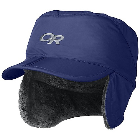 Entertainment On Sale. Outdoor Research Kids' Expedition Cap DECENT FEATURES of the Outdoor Research Kids' Expedition Cap Breathable Wind resistant Lightweight Wicking External Drawcord Adjustment Flip-up earflaps with magnetic sides The SPECS Weight: (M): 2.5 oz / 72 g 30D Pertex Endurance fabric exterior 100% nylon Warm Posh Pile interior, 100% polyester This product can only be shipped within the United States. Please don't hate us. - $21.99