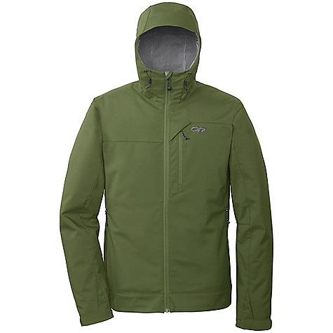 On Sale. Free Shipping. Outdoor Research Men's Transfer Jacket (Fall 2010) FEATURES of the Men's Transfer Jacket by Outdoor Research Breathable fleece-bonded stretch woven fabric; soft fleece interior Dual-pull adjustable hood Brushed tricot collar Two zippered hand pockets and chest pocket Dual drawcord hem adjustments Velcro cuffs SPECIFICATIONS: Average Weight (L): 25.6 oz. / 726 g Center Back Length: 29in. / 74 cm This product can only be shipped within the United States. Please don't hate us. - $64.99