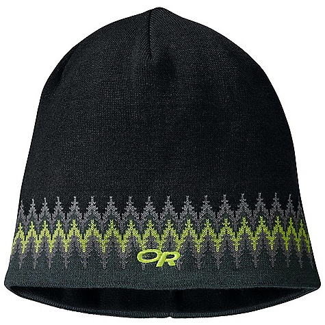 Entertainment Outdoor Research Treeline Beanie The SPECS Weight: 2.8 oz / 79 g Fabric: 70% acrylic 30% wool Full micro fleece lining This product can only be shipped within the United States. Please don't hate us. - $25.95