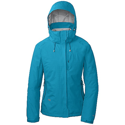 On Sale. Free Shipping. Outdoor Research Women's Igneo Jacket DECENT FEATURES of the Outdoor Research Women's Igneo Jacket Waterproof Windproof Breathable Fully Seam Taped Water-Resistant Zippers Fully Adjustable and Detachable Hood Fits Over Helmet External Front-Zip Storm flap Pit Zips Zippered Napoleon Pocket Two Zippered Hand Pockets Inner Lift Pass Pocket with Drawcord Key Clip Attachment Integrated Recco Reflector Removable Powder Skirt with LockDown Technology Thumb Drive Hook/Loop Cuff Closures The SPECS Average Weight: (M): 30.7 oz / 871 g Center Back Length: 27in. / 69 cm Relaxed Fit This product can only be shipped within the United States. Please don't hate us. - $166.99