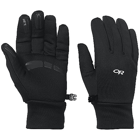 Outdoor Research Women's PL 400 Gloves DECENT FEATURES of the Outdoor Research Women's PL 400 Gloves Breathable Lightweight Wicking Quick Drying Silicone Grip Pads on Palm and Finger Tips MorionWrap Construction for Minimal Seaming Mirror Seam Double-Layer Fleece Construction Contoured Wrist Glove Clip The SPECS Weight: (M, per pair): 2.3 oz / 64 g Comfort Range: 25/40deg F / -4/4deg C 95% polyester, 5% spandex 300-weight exterior 100% polyester 100-weight lining This product can only be shipped within the United States. Please don't hate us. - $36.95