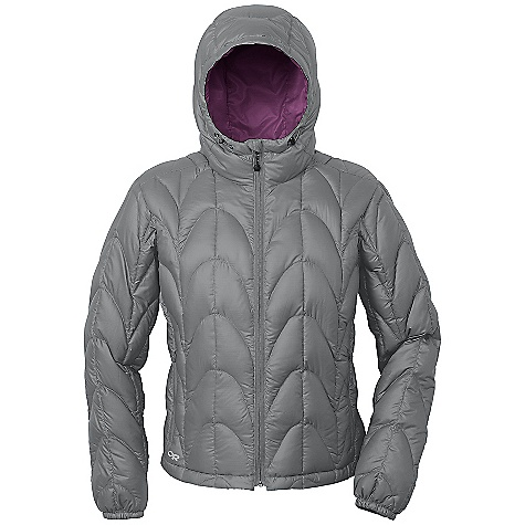 On Sale. Free Shipping. Outdoor Research Women's Aria Down Hoody FEATURES of the Outdoor Research Women's Aria Down Hoody Lightweight Breathable Fully Adjustable Hood Internal Front Zip Stormflap Two Zippered Hand Pockets Internal Zippered Pocket Stretch Binding at Cuffs Drawcord Hem Stuff Sack Included - $151.99