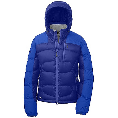 On Sale. Free Shipping. Outdoor Research Women's Virtuoso Jacket DECENT FEATURES of the Outdoor Research Women's Virtuoso Jacket Water Resistant Wind Resistant Lightweight Breathable Fully Adjustable Hood Brushed Tricot-Lined Collar Double-Separating Front Zipper Internal Front Zip Stormflap Zippered Napoleon Pocket Two Zippered Hand Pockets Left Hand Pocket Doubles as Stuff Sack Internal Zippered Pocket Hook/Loop Cuff Closures Stretch Binding at Cuffs Dropped Hem The SPECS Weight: (M): 17.6 oz / 498 g Standard Fit Center Back Length: 27 1/2in. / 69 cm Pertex Endurance 100% nylon, 30D shoulders and arms 100% polyester, 20D ripstop body and hood 650 Down Fill insulation 44D 100% nylon lining This product can only be shipped within the United States. Please don't hate us. - $161.99